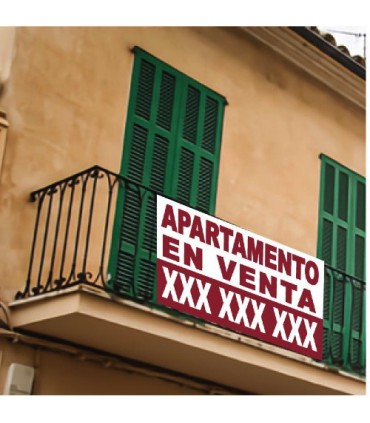 Cartell Apartament en Venda