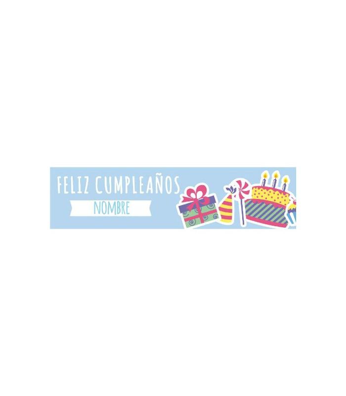 Cartel de Feliz cumpleaños infantil 2