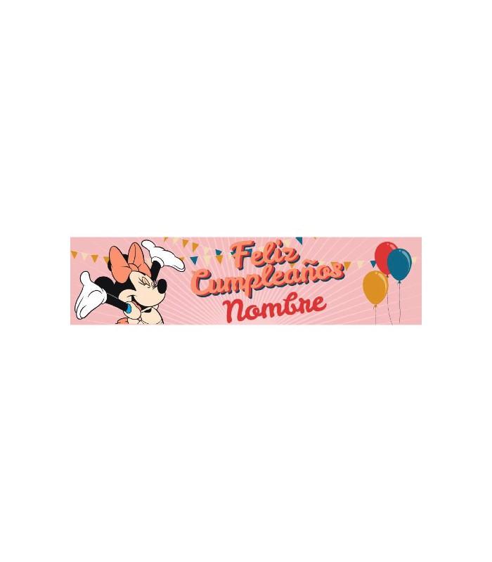 Cartell d'aniversari infantil Minnie