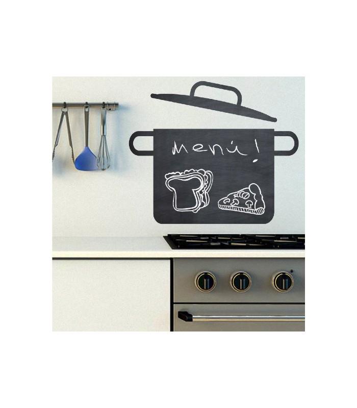 Vinilo de pizarra para tu cocina vinilos decorativos pizarra - Pizarras de cocina ...